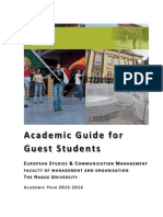 HHS Guest Students Academic Guide 2015-2016