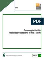 Guía Pedagógica Del Módulo Diagnostico y Servicio a Sistemas Del Motor a Gasolina