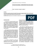 Muerte Por Ingesta de Cocaina, A Propoìsito de Un Caso. MunÞoìz-Quiroìs, J. M. Et Al
