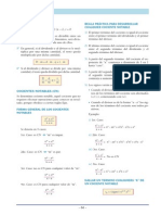 Algebra Compendio 8