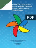 Plano Nacional de Prevenção e Erradicação Do Trabalho Infantil e Proteção Ao Adolescente Trabalhador