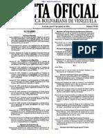 Ley de La Actividad Aseguradora Gaceta Oficial Nº 39481 - 5