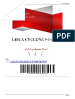 Leica Cyclone 9 0 Guide