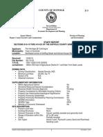 Suffolk County Staff Report