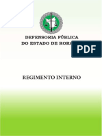 Regimento Interno DPE - RR