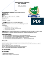 Psicología organizacional. Guía didáctica