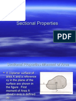 Sectional Properties1