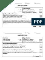 ian check form
