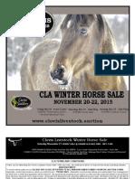 Clovis Horse Sales Winter 2015