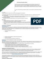 tech integration matrix 2