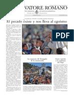 L´OSSERVATORE ROMANO - 06 Noviembre 2015