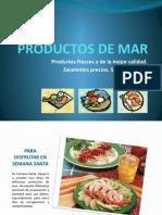 Presentación Productos de Mar 2010