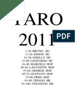 TARO 2011respostas Hc