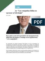 Las Companias Fallan en Ejecutar La Estrategia - David Norton