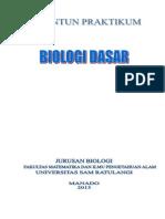 Penuntun Praktikum Biologi Dasar 2013-2017