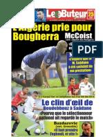 LE BUTEUR PDF du 25/03/2010