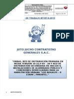 Plan de Trabajo Inicial Nogales II Etapa - Jutojucho