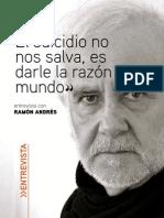 Entrevista con el escritor Ramón Andrés.