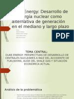 Caso Duke Energy - Desarrollo de Central Nuclear. Rev2
