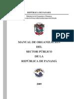 Manual de Organizacion Del Sector Publico de Panama 2009 Publ Junio 2010 Seg