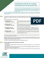 Guide Parametrage Releves Comptes Protocole EDI