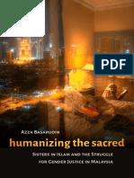 Humanizing the Sacred