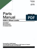 CATERPILLAR - Parts Manual 938G II_SEBP3498-26_VOL 1