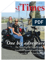 November 2015 Montana Best Times