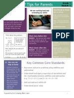 eureka math grade 1 module 2 parent tip sheet