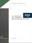 La Teología Del Símbolo de San Buenaventura