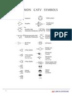 Common CATV Symbols