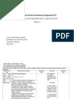 evaluación diagnostica NT1 lenguaje