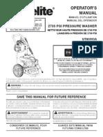 HomeLite Pressure Wash UT80993A