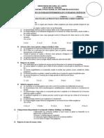 Examen II Unidad Enfermería en Cuidados Críticos