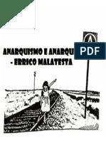 Anarquismo e Anarquia - Errico Malatesta