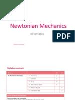 High school Physics notes (Kinematics)