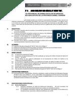 Directiva Concurso de Banda 2015
