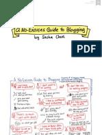 2014-02-14 a No-Excuses Guide to Blogging - Sacha Chua v2