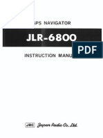 JLR-6800(E) Instruction Manual