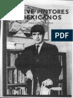 Nueve Pintores Mexicanos Juan García Ponce