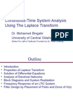 Ch4_Continuous-Time System Analysis Using the Laplace Transform