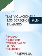 Las Violaciones a Los Derechos Humanos
