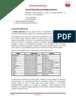 Cinetica de Los Procesos Electrometalurgicos