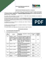 MUNICÍPIO DA ESTÂNCIA BALNEÁRIA DE PRAIA GRANDE EDITAL DE ABERTURA DE PROCESSO SELETIVO - Nº 002/2015