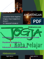 Kafe vs Angkringan di Jogja