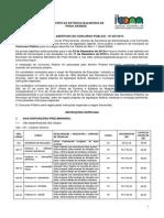 MUNICÍPIO DA ESTÂNCIA BALNEÁRIA DE PRAIA GRANDE EDITAL DE ABERTURA DE CONCURSO PÚBLICO - Nº 007/2015