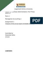 Gillette India Accounts Report 2013-14