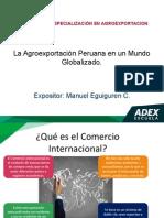1.- La Agroexportación Peruana en Un Mundo Globalizado 2015