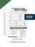 ATC Light Gun Signals