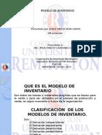 Modelo de Inventarios y tipos de inventarios clasificacion de los modelos de inventarios